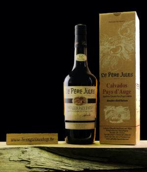 Calvados Pere Jules 10 fles met box