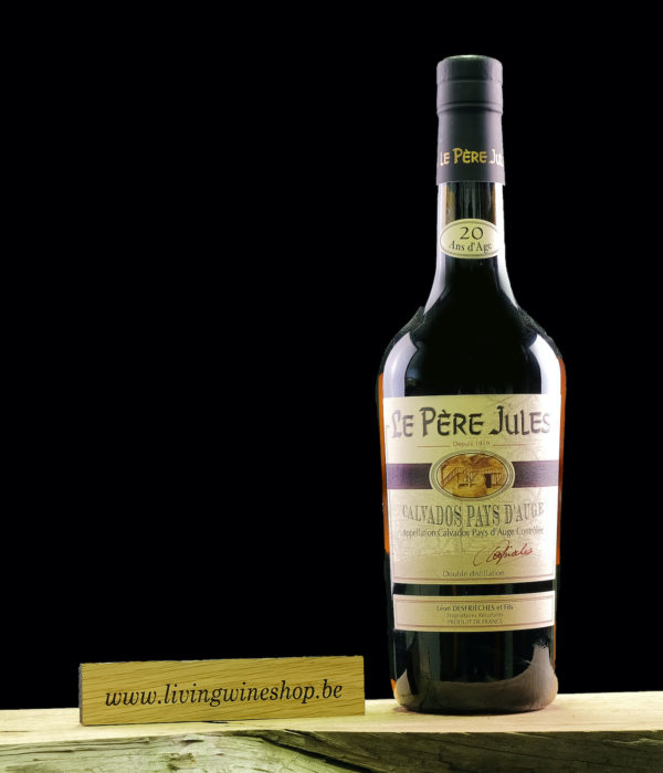 Calvados pere Jules 20 jaar