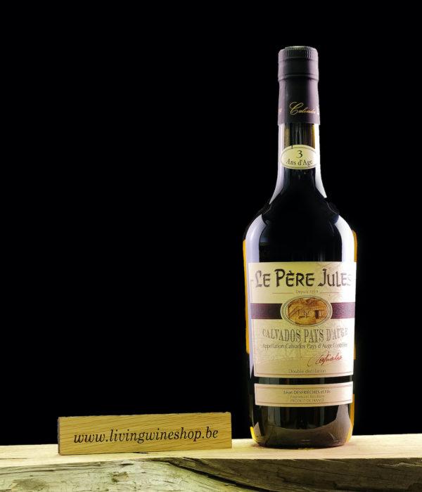 Calvados pere jules 3 jaar fles