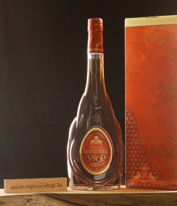 Cognac-Maxime-Trijol-VSOP-Superieur-classique-700ml-fles-box