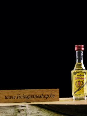 Likeur Elexir d Anvers mini fles