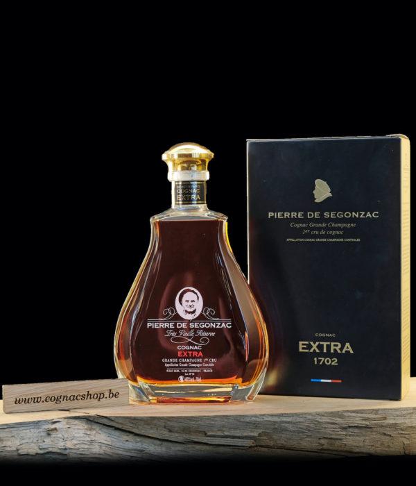 Cognac-Pierre-de-Segonzac-Extra-fles-met-box