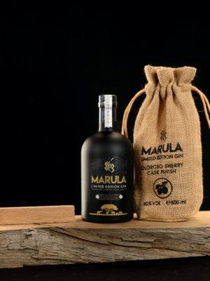 Gin-Marula-Limited-edition-Oloroso-fles-en-zak